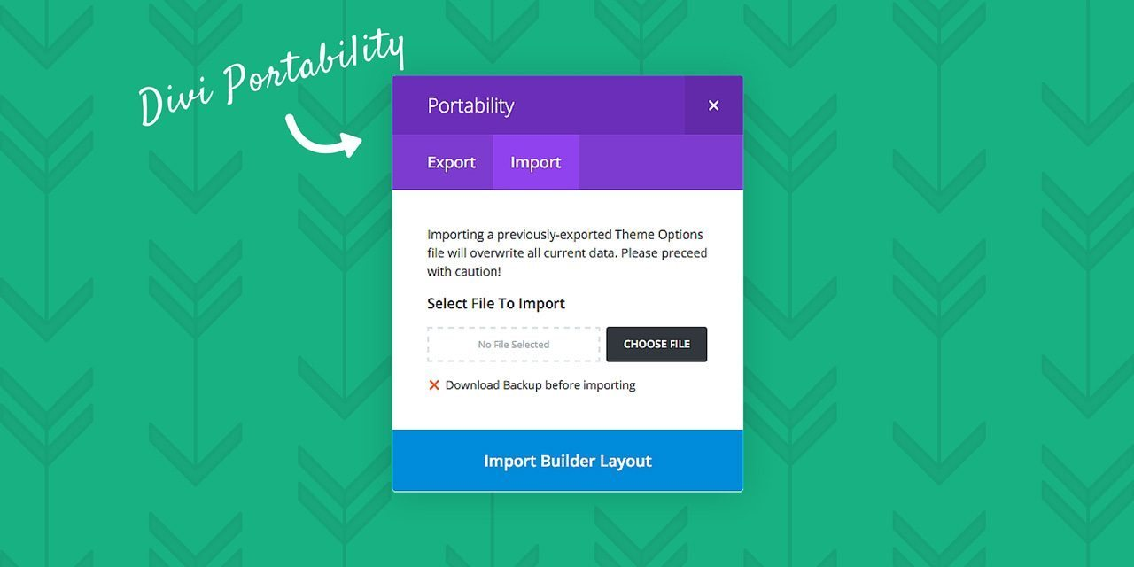 A Complete Guide To Divi's New Portability Feature