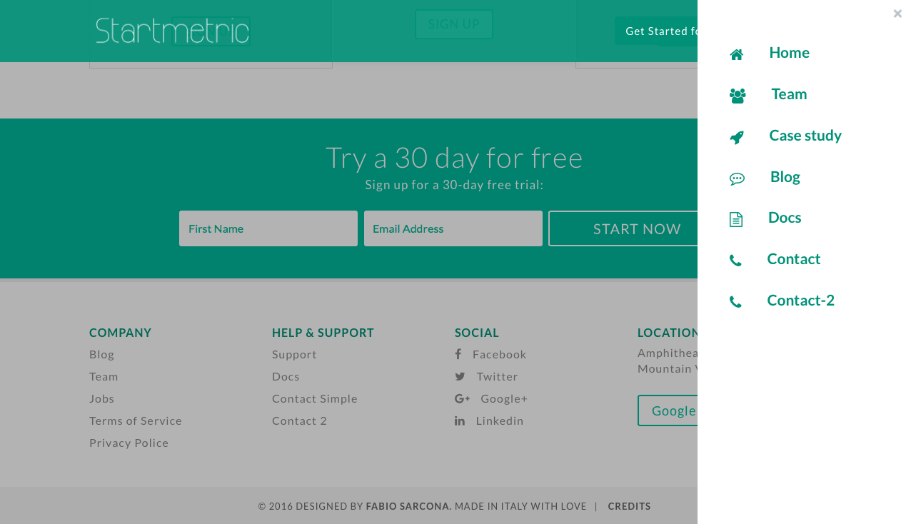 Creative Child Themes, Startmetric 3