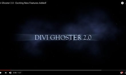 Divi Ghoster 2.0 – Coming Soon To A Screen Near You