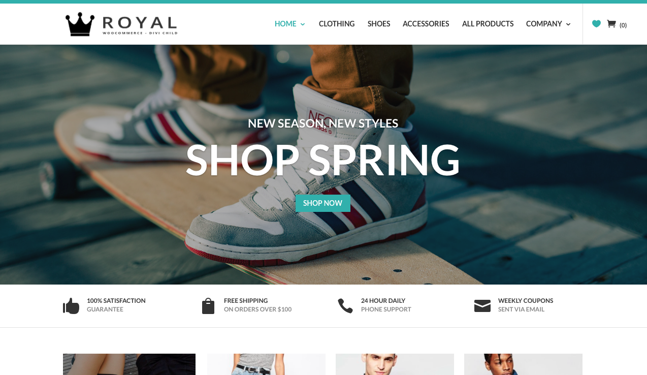 Divi Life, Royal Commerce 1
