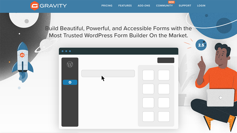 Gravity Forms Form Plugin for WordPress