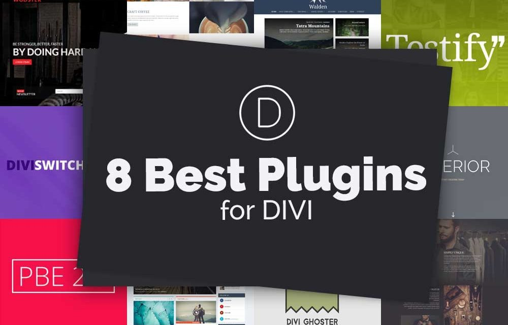 The 8 Best Plugins for Divi