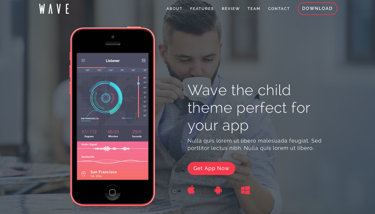 Aspen Grove Studios Best Child Themes for Divi Creative Child Themes, Wave Dark Child Theme