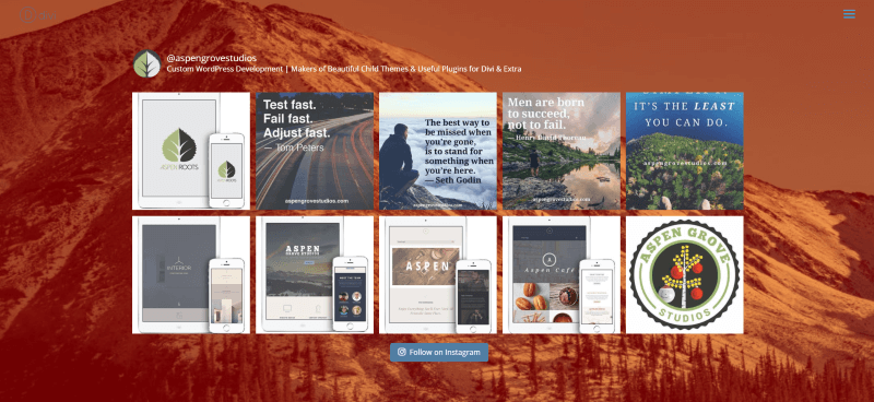 How To Set Up An Instagram Feed On Your Divi Website