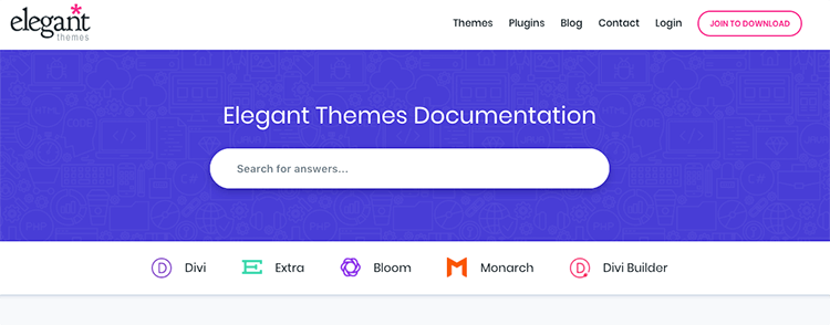 Elegant Themes Documentation