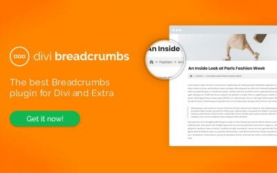Introducing Our Latest Plugin for Divi and Extra: Divi Breadcrumbs!