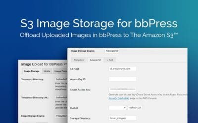 Plugin Review: S3 Image Storage for bbPress