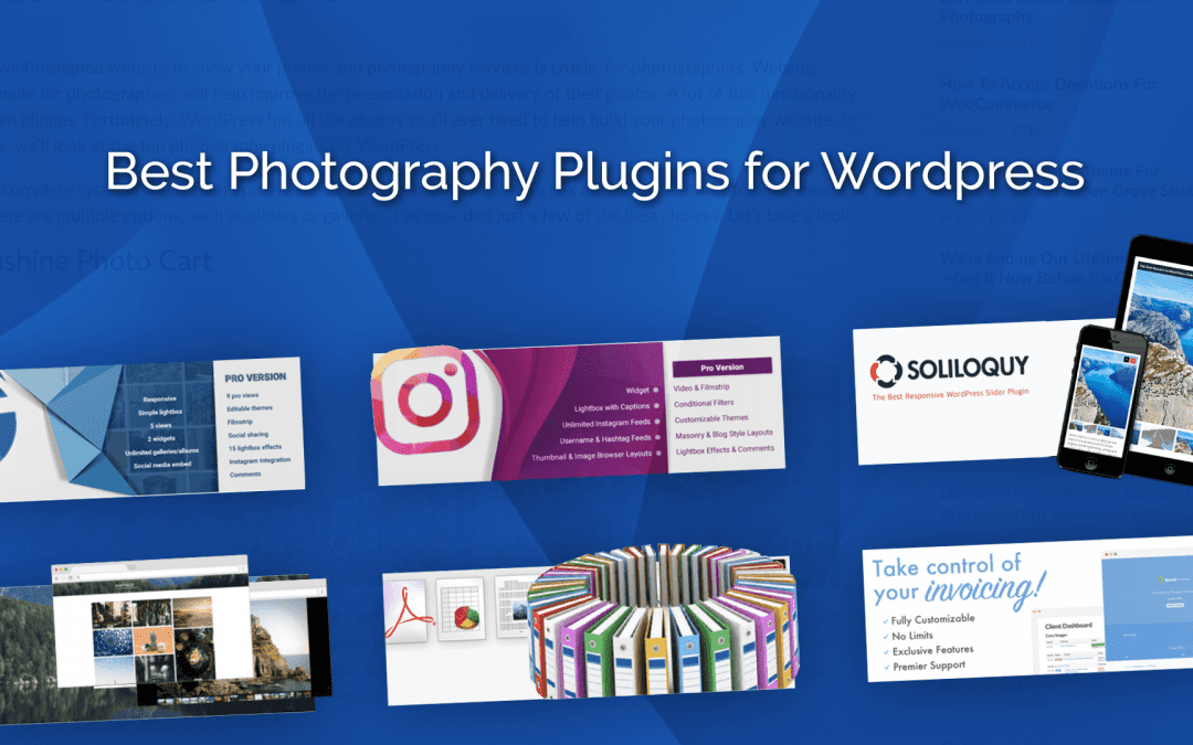 Best Photography Plugins for WordPress