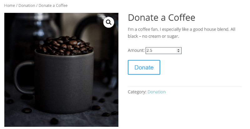 Potent Donations for WooCommerce plugin