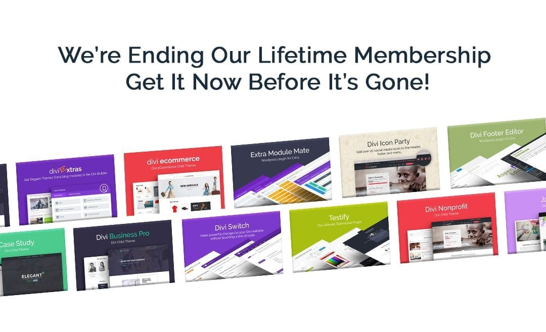 We're Ending Our Lifetime Membership – Get It Now Before It's Gone