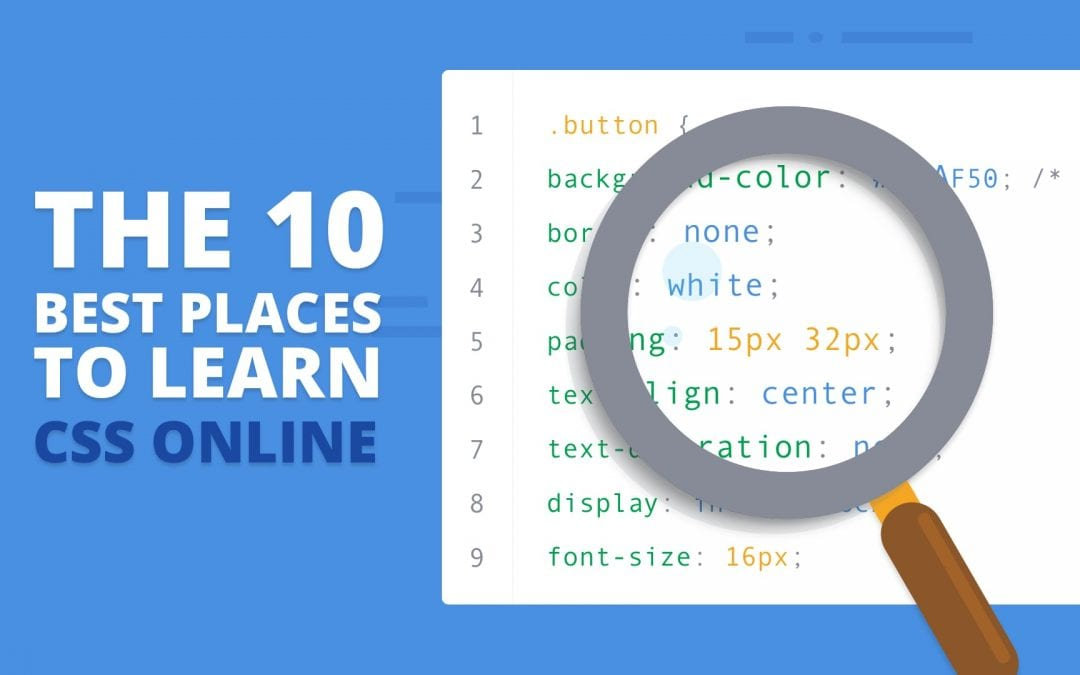 The 10 Best Places To Learn CSS Online