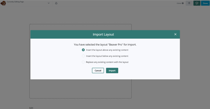 Using WP Layouts with Beaver Builder