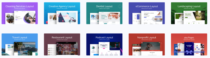 WP Layouts Free Divi Layouts