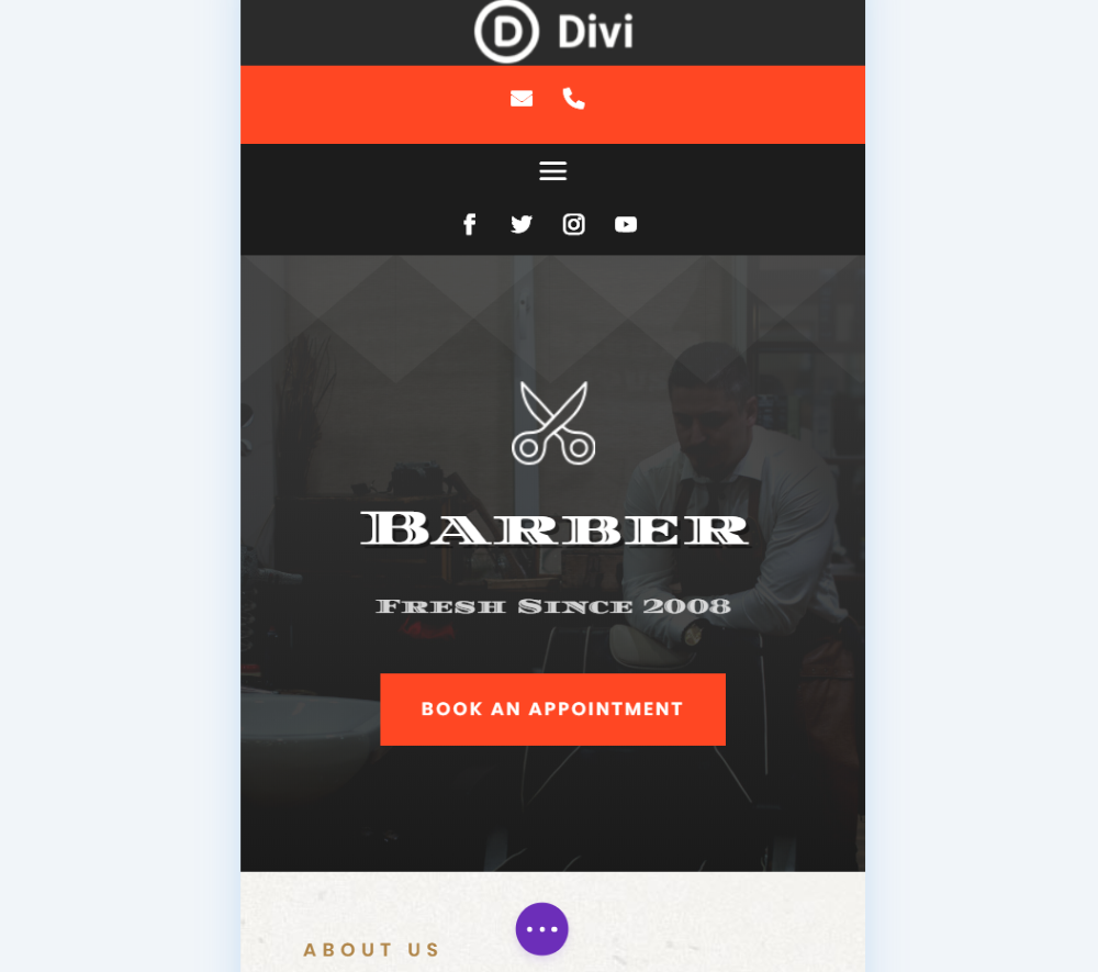 Using the Theme Builder with Divi Icon Party Icons