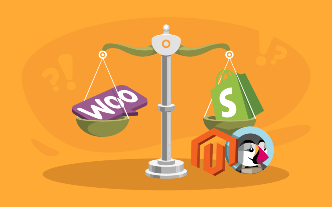 Best Ecommerce Platforms Compared WooCommerce vs Shopify vs PrestaShop vs Magento