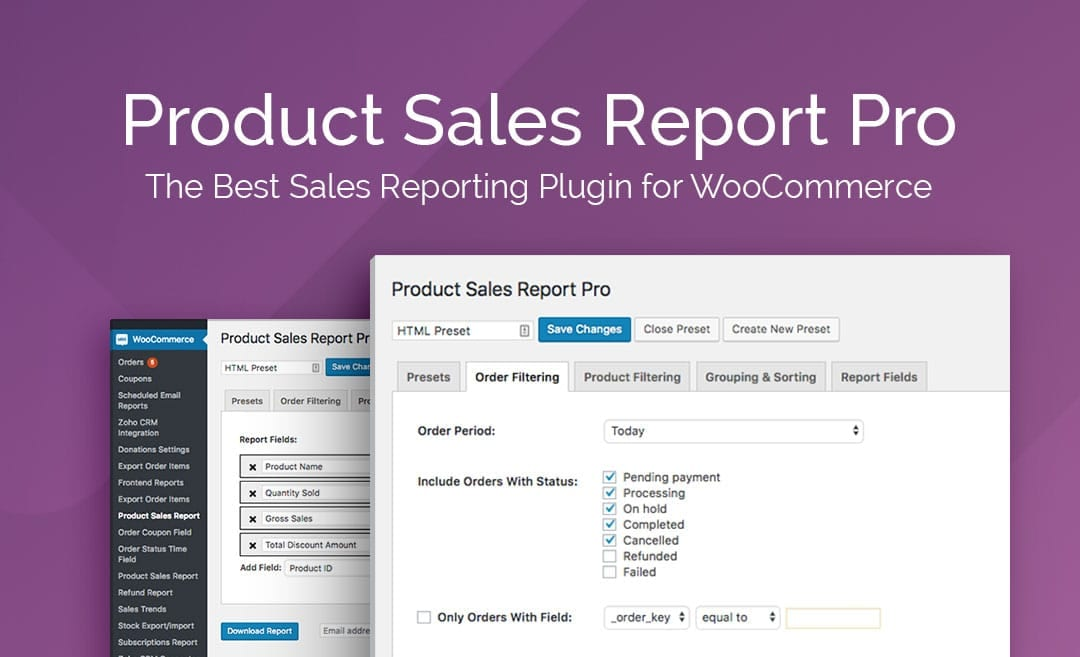 product sales report pro for woocommerce woocommerce plugins