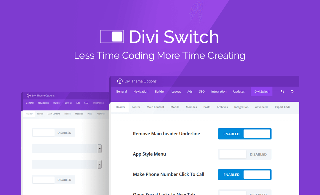 Divi Switch